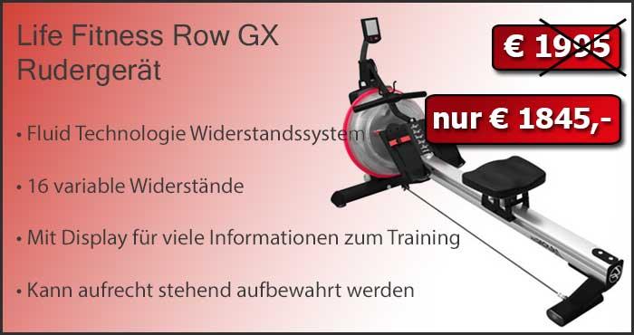 Life Fitness Row GX Trainer zum Sonderpreis!