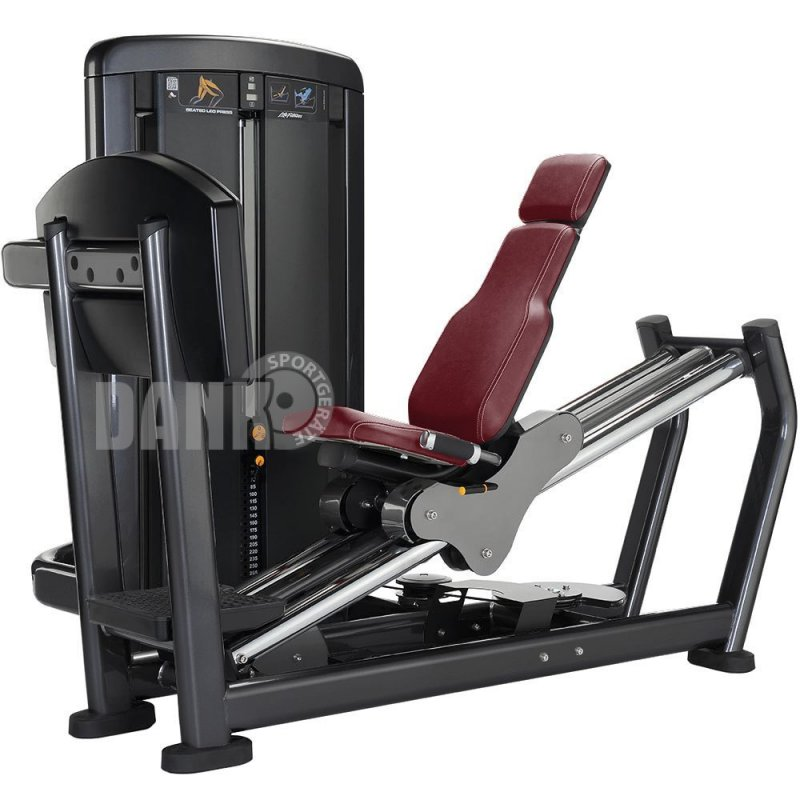 life fitness leg press beinpresse insignia series farbe platinum s. Black Bedroom Furniture Sets. Home Design Ideas