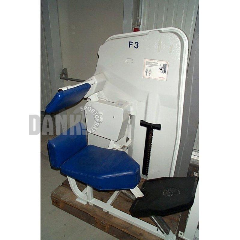Nautilus Treadclimber Gebraucht: Nautilus Beinpresse, Sitzend, Weiß, Gebraucht, 985,00 €, D