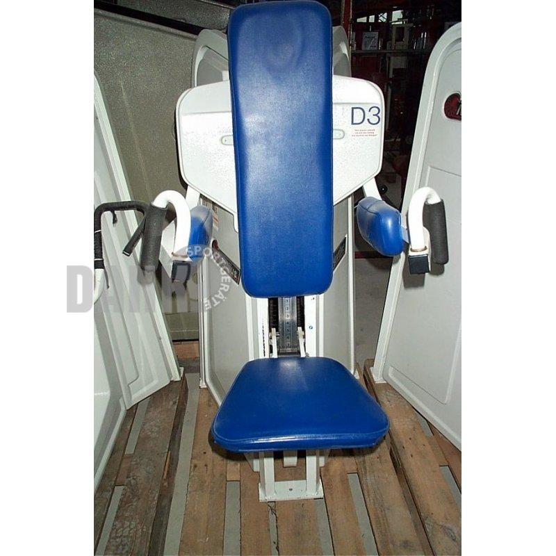 Nautilus Treadclimber Gebraucht: Nautilus Seithebe, Schultermaschine, Weiß. Gebraucht, 495