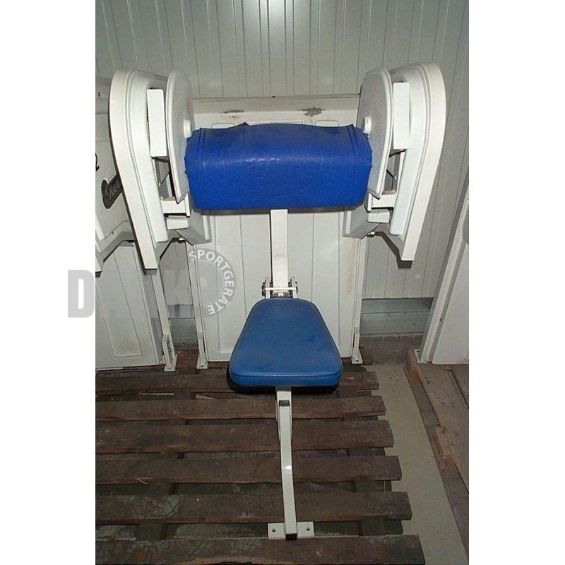 Nautilus Treadclimber Gebraucht: Nautilus Bizepsmaschine, Bizeps, Weiß, Gebraucht, 595,00