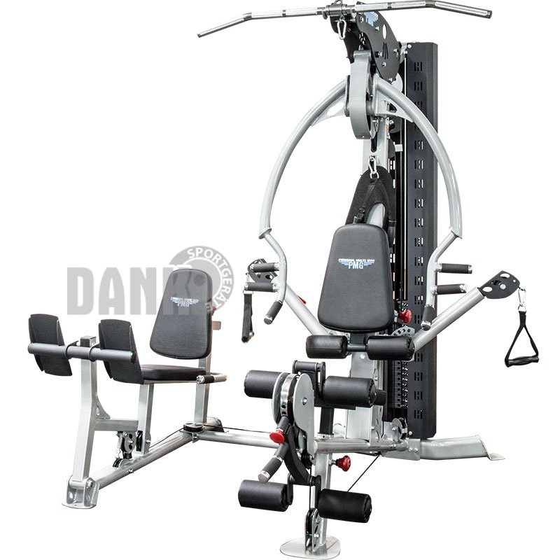 personal multi gym pmg 028 inkl beinpresse dan. Black Bedroom Furniture Sets. Home Design Ideas