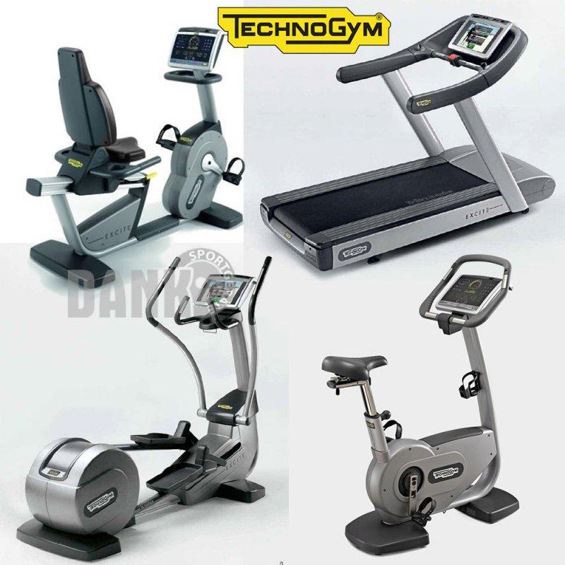 technogym cardioger te excite line 500 und 700 fitnessger. Black Bedroom Furniture Sets. Home Design Ideas