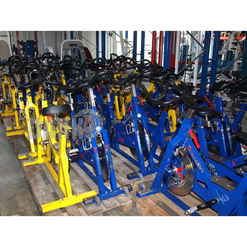 Tomahawk XL Bike, Indoor Bikes, 11 Stück, blau, gelb, gebraucht,